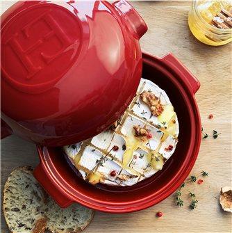 Recette du camembert rôti aux noix, pignons de pin et miel