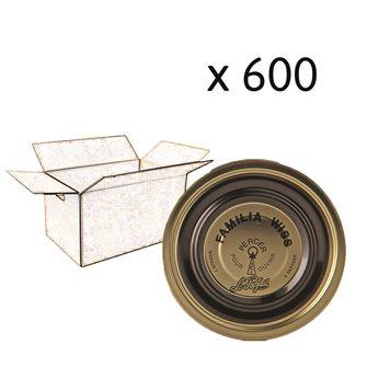 Capsule Familia Wiss® 110 mm par carton de 600