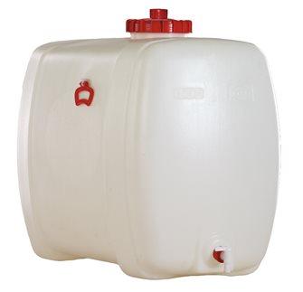 Cuve alimentaire rectangulaire de 300 litres