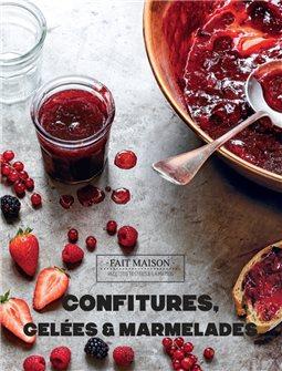 Livre Confitures, gelées et marmelades