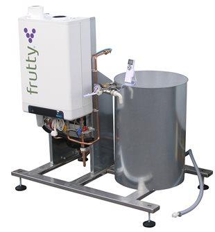 Pasteurisateur à jus à gaz 250 l/heure avec pompe
